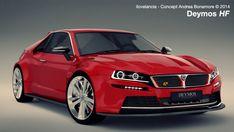 Lancia Deymos HF concept #car #concept #lancia