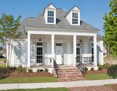 New Orleans charm with a private courtyard. Highland Homes.