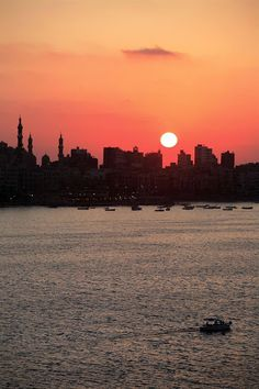 Beautiful #Sunset Over The #Nile ........     Peace & Love Be Upon #Egypt.............