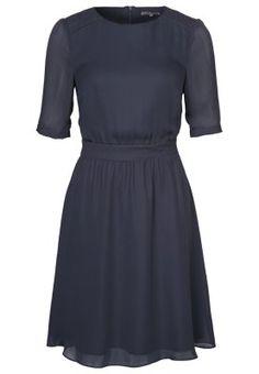 Sukienka koszulowa - niebieski