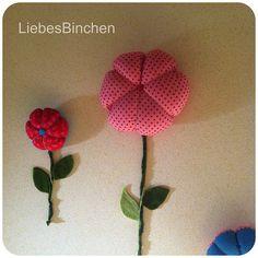 LiebesBinchen: DIY Blumen fürs Kinderzimmer