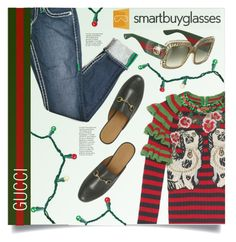 """""""SMARTBUYGLASSES contest"""" by meyli-meyli ❤ liked on Polyvore featuring Gucci and smartbuyglasses"""