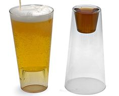 shot/ pint glass in one