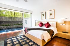 MASTER WITH PLUNGE 2Bd Deluxe Phuket Hotels, Luxury, Best Deals, Bed, Apartments, Furniture, Home Decor, Couple Room, Decoration Home