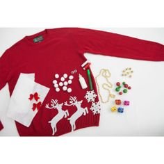 Great idea!  Next year I will DIY the ugly Christmas sweater.
