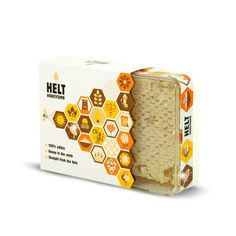 New honeycomb packaging design for HELT Honey