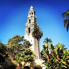 Balboa Park in San Diego. Photo courtesy of erinkate25 on Instagram.