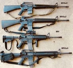 (more formally Rifle, Caliber mm, is the U. military designation for a family of rifles derived from the ArmaLite and further developed by Colt starting in the centur. Assault Rifle, Military Weapons, Weapons Guns, Guns And Ammo, M4 Carbine, Assault Weapon, Cool Guns, Firearms, Custom Knives