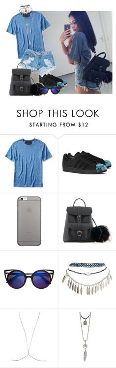 """""""Untitled #328"""" by rozzfashion ❤ liked on Polyvore featuring Levi's, adidas Originals, Native Union, Grafea, Wet Seal and Brave Lotus"""