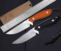 Application:HuntingKnifeDIYSupplies:WoodworkingType:FixedBladeKnifeHandleProduct materials:OtherBladeProduct materials:OtherColor:BlackOrange