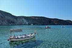 Firopotamos port, Milos, Greece
