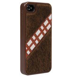 Fuzzy Chewbacca #iPhone case! #Mobilephones #Starwars
