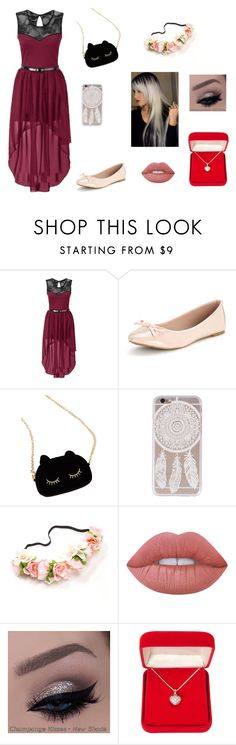 """""""Soirée"""" by abigaelf on Polyvore featuring mode, WithChic, Lime Crime et Alexa Starr"""