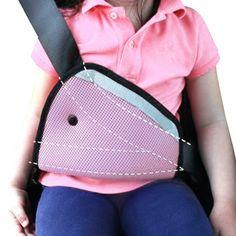 Nuovo Bambino Passeggino Auto Bambino Protezione del Collo Multifunzione Bambino Capretto adulto Auto Passeggino Sicuro Fit Cintura di Sicurezza Regolatore 4 Colori FCI #