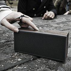 Portable Wood Bluetooth Speaker - $249