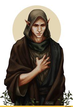 Nipuni,artist,Солас,DA персонажи,Dragon Age,фэндомы,DAI