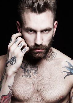 tattoo + beard = <3