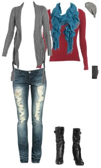 WetSeal.com Runway Outfit:  winter warmth by Taylor Jenkins.