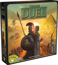 Available in: Item. One of the most celebrated games in the world can now be experienced in a two-player arena.    7 Wonders Duel takes the gameplay and