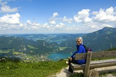 Now that is a view! Looking over the lakes in Salzgammergut