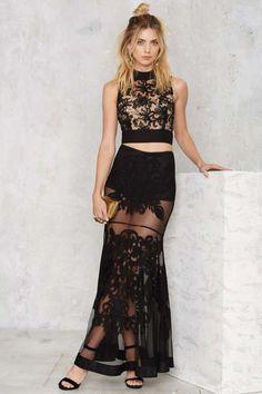 Nasty Gal Baroque 'n' Bad Embroidered Skirt - Best Sellers