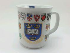 Oxford University Arms of the Colleges Ceramic Coffee Mug. Sampson Souvenirs Ltd #SampsonSouvenir
