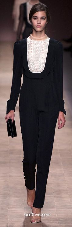 Valentino Spring Summer 2013 Ready To Wear Dresses & Pants Collection – Full Length Fashion Photos Optimized for Pinterest