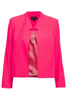 Notch Neck Jacket - Topshop