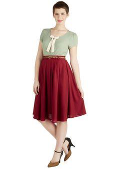 Longer Length Skirts - Breathtaking Tiger Lilies Skirt in Merlot love the skirt and the shirt!