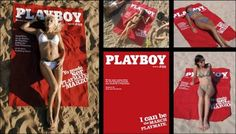 Playboy Beach Sheets - Become the Playboy model.