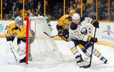 Photo galleries featuring the best action shots from NHL game action. Predators Hockey, John Russell, Nhl Games, Buffalo Sabres, Nashville Tennessee, January