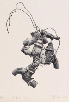水龙头和铁丝