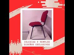 💗Atención Iglesias! y Templos 💗 Iglesias, Chair, Furniture, Home Decor, Temples, Model, Classroom Furniture, Upholstered Chairs, Metal Furniture
