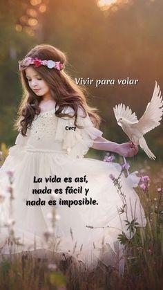 La vida es así, nada es fácil y nada es imposible.  ♥️