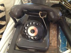Olden day telephone