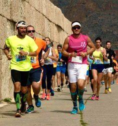 Uno de nuestros #runners en la carrera del #puertodealmeria #correnonocorre #running #run #ilp #ilovepadel #Almería #mueveelculo  #hazdeporte #sport