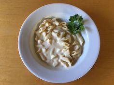 Nutrisystem Fresh Start Day 1 dinner, Chicken Alfredo