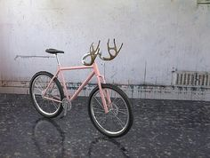 UK-based designer Sung Kug Kim debuted his Bi-King antler bike handlebars at ICFF this year. Not only are they hilariously brilliant and tak...