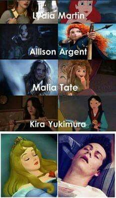 Teen Wolf Disney Princess