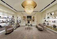 @James B Choo's new Beverly Hills boutique is the first to offer their Made to Order custom design service.