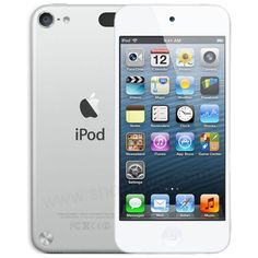 iPod touch 5th generation in silver. A's xmas list