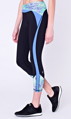 Longer length crops will keep you cool as you run on the track, road or trail. | Hyper Track Crop