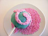cake pops from sugarflowerscreation!  small sweet bites on sticks!