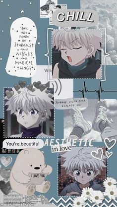 HUNTER X HUNTER > Killua aesthetic wallpaper