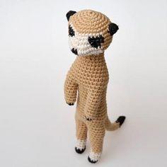 Rupert The Meerkat Seamless Amigurumi | Craftsy