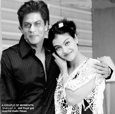 Shahrukh Khan and Kajol Bollywood Dress, Indian Bollywood, Bollywood Stars, Shahrukh Khan And Kajol, Glamour World, Star Children, Bollywood Celebrities, Films, Movies