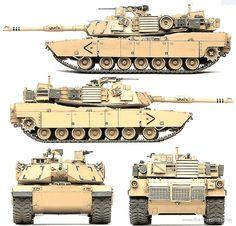 M1A1 Abrams.