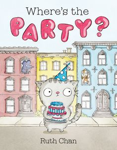 Where's The Party - kids book review and giveaway! #georgieandfriends