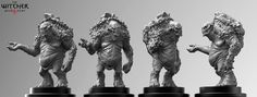 Witcher 3 Troll, Marcin Klicki on ArtStation at https://www.artstation.com/artwork/witcher-3-troll