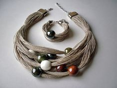 As you go on your fashion jewelry making journey, you'll discover that you will typically experience wires. Precious jewelry makers, the imaginative lot, have actually discovered numerous methods to include them in pieces in various methods. Textile Jewelry, Fabric Jewelry, Wire Jewelry, Jewelry Crafts, Beaded Jewelry, Jewelery, Handmade Jewelry, Beaded Bracelets, Diy Jewellery